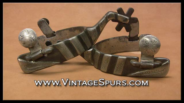 Billy Klapper Handmade Spurs Vintage Spurs